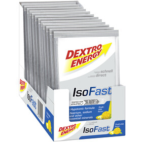 Dextro Energy IsoFast Caja Bebida Carbo Mineral 12x56g, Fruit Mix